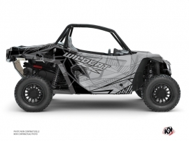 Kit Déco SSV Requiem Arctic Cat Textron Wildcat XX Noir Gris FULL