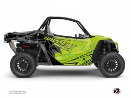 Arctic Cat Textron Wildcat XX UTV Requiem Graphic Kit Black Green FULL