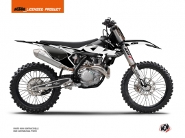 KTM 150 SX Dirt Bike Retro Graphic Kit Black