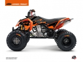 KTM 450-525 SX ATV Retro Graphic Kit Orange