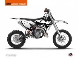 KTM 65 SX Dirt Bike Retro Graphic Kit Black