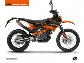Kit Déco Moto Cross Retro KTM 690 ENDURO R Orange