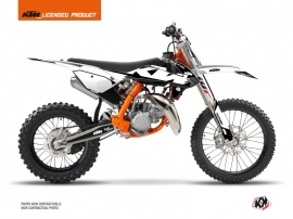 KTM 85 SX Dirt Bike Retro Graphic Kit Black