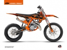 Kit Déco Moto Cross Retro KTM 85 SX Orange