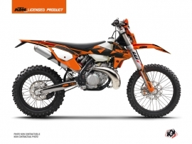 Kit Déco Moto Cross Retro KTM EXC-EXCF Orange