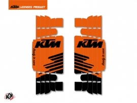 Kit Deco Radiator guards Retro KTM SX-SXF 2016-2017 Orange
