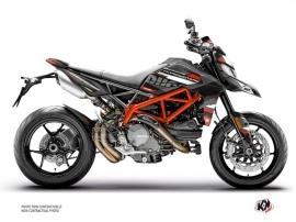 Ducati Hypermotard Street Bike Rezza Graphic Kit Black