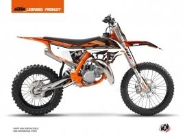 Kit Déco Moto Cross Rift KTM 85 SX Noir Orange
