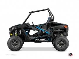 Kit Déco SSV Rock Polaris RZR 900 Noir Bleu
