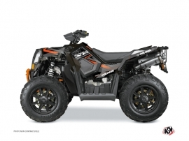 Kit Déco Quad Rock Polaris Scrambler 850-1000 XP Noir Orange