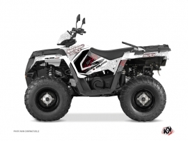 Kit Déco Quad Rock Polaris 570 Sportsman Forest Blanc