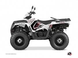 Kit Déco Quad Rock Polaris 570 Sportsman Forest Blanc