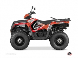 Kit Déco Quad Rock Polaris 570 Sportsman Forest Rouge