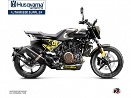 Husqvarna Svartpilen 701 Street Bike Rocket Graphic Kit Grey Yellow