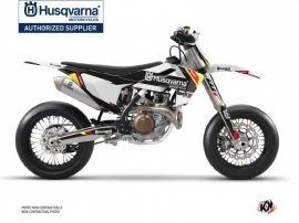 Husqvarna 450 FS Dirt Bike Rocky Graphic Kit Black