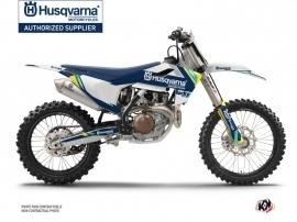 Husqvarna FC 350 Dirt Bike Rocky Graphic Kit Blue