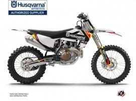 Husqvarna FC 350 Dirt Bike Rocky Graphic Kit Black