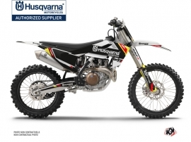 Husqvarna TC 125 Dirt Bike Rocky Graphic Kit Black