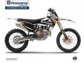 Kit Déco Moto Cross Rocky Husqvarna TC 125 Noir