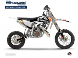 Husqvarna TC 50 Dirt Bike Rocky Graphic Kit Black