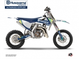 Kit Déco Moto Cross Rocky Husqvarna TC 65 Bleu