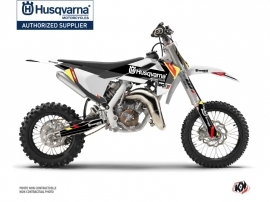 Husqvarna TC 65 Dirt Bike Rocky Graphic Kit Black