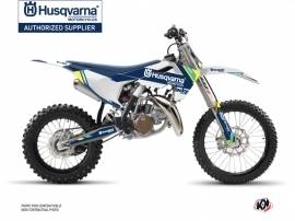 Husqvarna TC 85 Dirt Bike Rocky Graphic Kit Blue