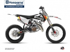 Husqvarna TC 85 Dirt Bike Rocky Graphic Kit Black