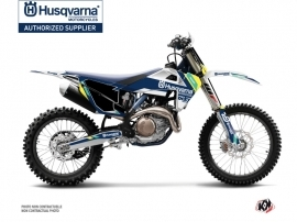 Husqvarna FC 250 Dirt Bike Rocky Graphic Kit Blue