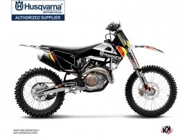 Husqvarna TC 125 Dirt Bike Rocky Graphic Kit Black
