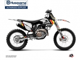 Husqvarna TC 250 Dirt Bike Rocky Graphic Kit Black