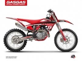Kit Déco Moto Cross Rush GASGAS EXF 350 Noir