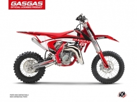 GASGAS MC 65 Dirt Bike Rush Graphic Kit Black
