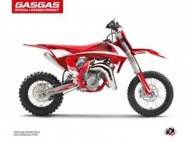 GASGAS MC 65 Dirt Bike Rush Graphic Kit Red