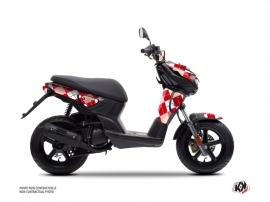 Kit Déco Scooter Scottish Yamaha Slider Rouge
