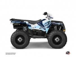 Polaris 450 Sportsman ATV Serie Graphic Kit Blanc