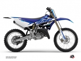 Yamaha 250 YZ Dirt Bike Skew Graphic Kit Blue