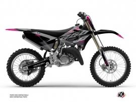 Yamaha 250 YZ Dirt Bike Skew Graphic Kit Pink