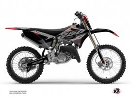 Yamaha 250 YZ Dirt Bike Skew Graphic Kit Red