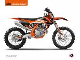 KTM 150 SX Dirt Bike Skyline Graphic Kit Orange