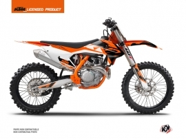 KTM 250 SX Dirt Bike Skyline Graphic Kit Orange