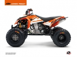 KTM 450-525 SX ATV Skyline Graphic Kit Orange