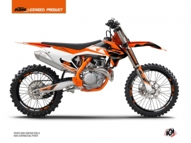 Kit Déco Moto Cross Skyline KTM 450 SXF Orange
