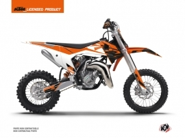 Kit Déco Moto Cross Skyline KTM 65 SX Orange