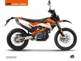 KTM 690 ENDURO R Dirt Bike Skyline Graphic Kit Orange