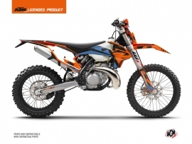 Kit Déco Moto Cross Skyline KTM EXC-EXCF Bleu