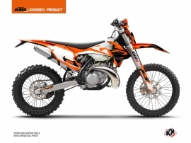Kit Déco Moto Cross Skyline KTM EXC-EXCF Orange
