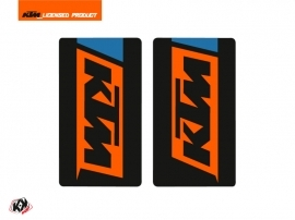 Kit Déco Stickers de fourche Skyline Moto Cross KTM SX-SXF EXC-EXCF Bleu