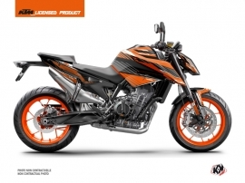 KTM Duke 790 Street Bike Slash Graphic Kit Orange Black