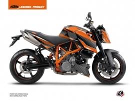 Kit Déco Moto Slash KTM Super Duke 990 Orange Noir
